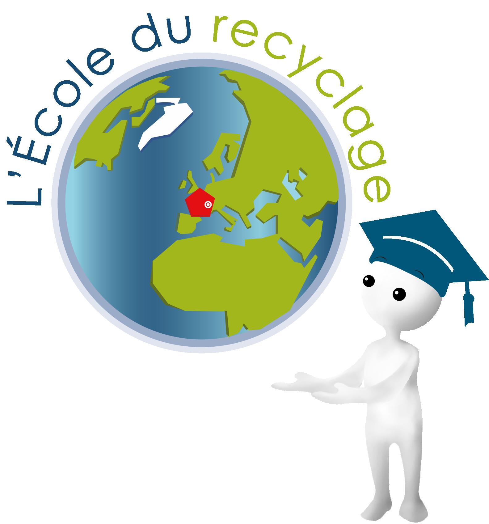 logo l'école du recyclage