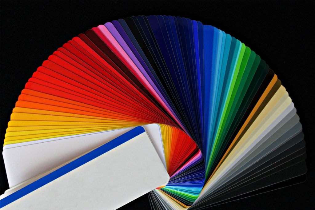 les coloris pour le logo
