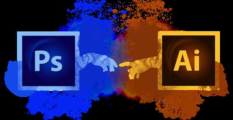 logo photoshop et illustrator